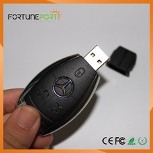 Creative Custom USB Flash Drive Car Key Shaped Bulk Cheap Thumbdrive For Promotional