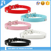 Wholesale Custom Printed Leather dog collar with name
