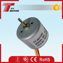 High torque small brushless electric 3-volt motor