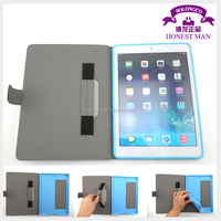 unbreakable protective leather case for ipad multi-functional hand bag for ipad air 2 wholesale