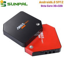 M8SplusII Support OEM print logo boot logo Octa Core Android 6.0 Set top Box Amlogic S912 3gb ram 32gb rom 2gb+16gb 1g 8g tv box