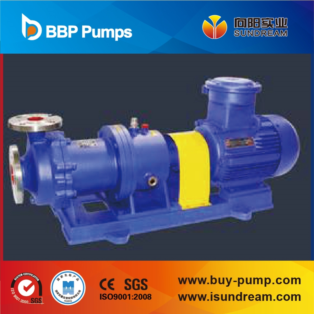 CQB-G style high temperature magnet pump/magnetic drive pump