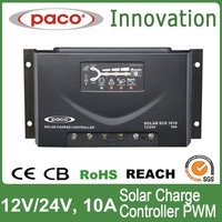 PWM solar charge controller 10A 12V solar controller charge controller