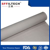 popular high quality cheap dacron rolls filter material