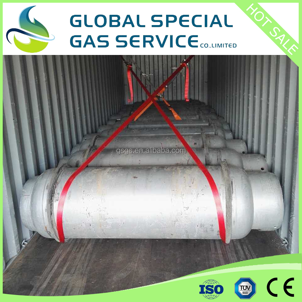 high purity 99.999% SF6 Gas price in 500L Drum Sulfur Hexafluoride for sale