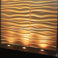 Wall coating modern style 3d wall decor pvc interior wall paneling for sale