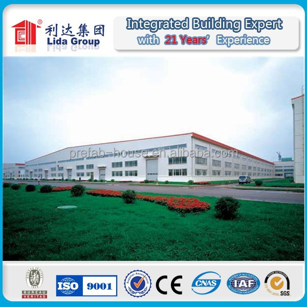 PU Sandwich Panel Steel Structure Storage Office