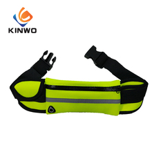 Fabric Waterproof Neoprene Foldable Hydration Outdoor Sport bag belt Wear Water Bottle Running Waist Pack Bag For Gym