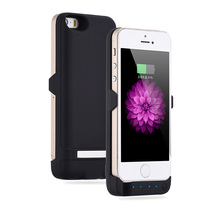 4200mah Universal External Backup Battery Power bank Charger Case For iphone 5 5SE 5S