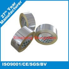 China made low price gold sticky foil tape aluminum foil tape