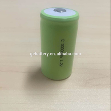 High capacity 1.2V rechargeable NI-MH 5000mAh battery for electric product