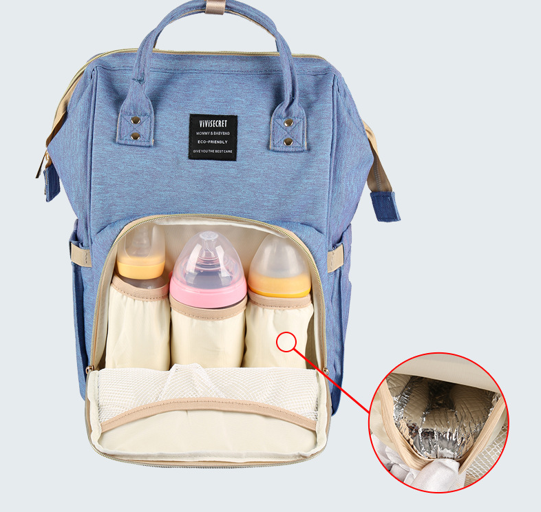 Wholesale fashion outdoor backpack multi purpose diaper bag for travelling