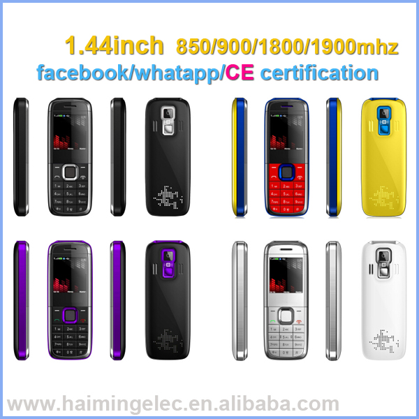 hot selling in south America mini 1.44inch mobile phones quad band MTK6260 model MINI 5130