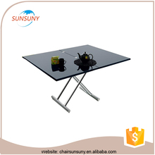 12 seater modern glass extendable dining table