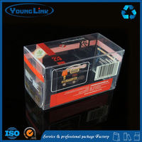 small clear flat plastic boxes