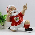 wholesale Custom resin soccer football gnome figures garden gnome