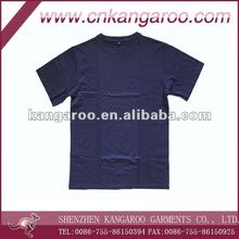 Army Use 100% Cotton Breathable Plain Military Training Tee Shirt