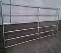 Good quality square post 2.1m x1.8m and 6 rails portable horse pens pan panels from Haotian factory