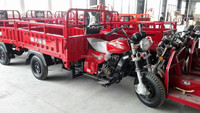 2017 new designed hot sale Used 110cc/150cc/175cc/200cc Trike cargo three wheel motorcycle In Morocco