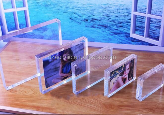 display photograph acrylic frames clear acrylic photo frame