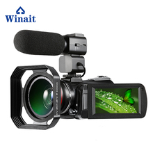 Winait UHD 4k wifi digital video camera with 3.0'' touch display 30x digital zoom night vision digital camcorder