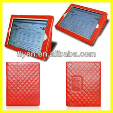 Sheepskin Red PU Leather Folio Case Cover Stand For iPad 4 3 2 Tablet 9.7'' Wholesale Good Price