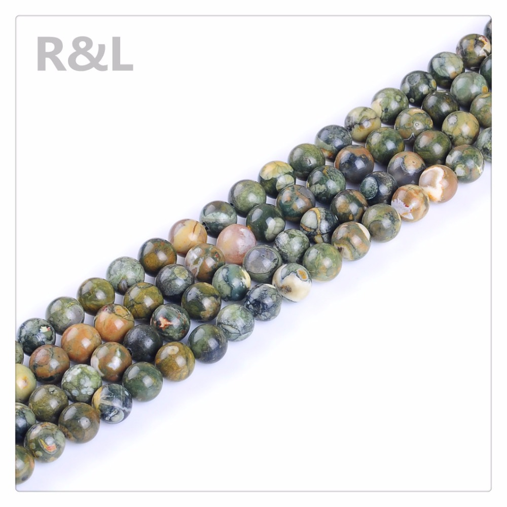 High Quality Natura Round Stone Beads Loose Gemstone 4-12MM Wholesale <strong>Price</strong> For Jewelry Making