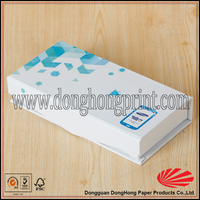 Recycled paper mobile software box