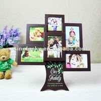 American creative picture frame combination happiness tree birthday married valentine's day present wooden frames