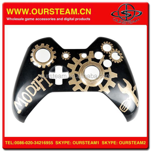new DIY water transfer printing front shell for xbox one controller replacement shell
