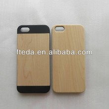 New arrival Green Environmental Wooden&Bamboo PC Case Cover For Apple iPhone 5/5s/5c Differet Material Available