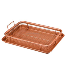 Copper Crisper Tray Air Fryer Non Stick