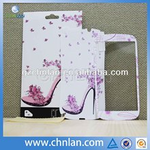 Various design non slip vinyl skin sticker for iphone 5 cover