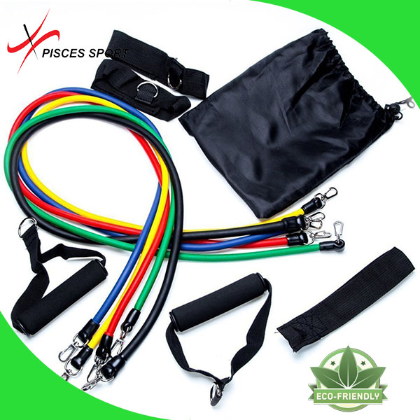 2017 new custom resistance exercise band for muscle relaxation