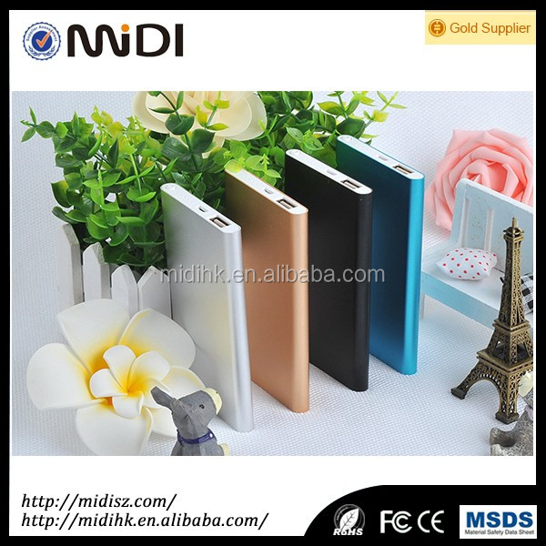 Low price for mobile phone Latest Portable promotional 4000mAh powerbank gifts could custom logo