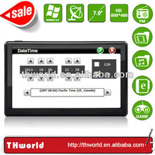 2014 Wholesale Checkout 7 inch gps map software for windows ce with 800MHz CPU 4GB Memory only $33