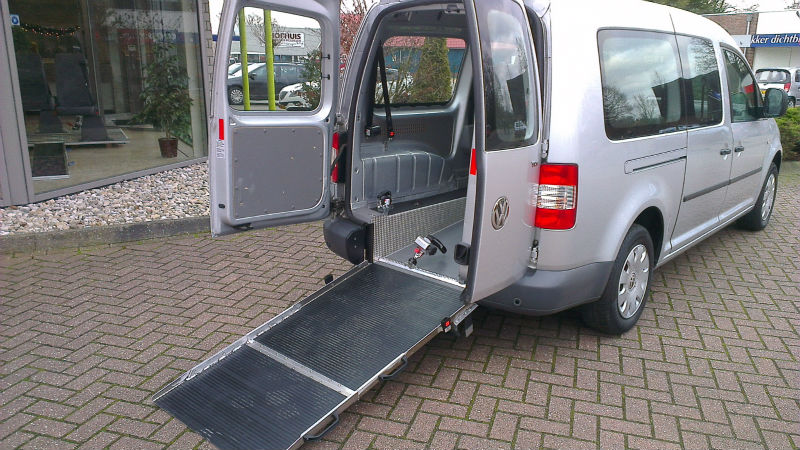 Volkswagen Caddy Wheelchair car