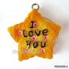 New coming artifical lovely resin biscuit food pendant