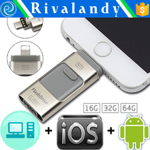 Type-C USB OTG USB 2.0 Flash Drive 16gb 32gb 64gb Pendrive Smart Phone Pen Drive Memory U flash drive usb stick