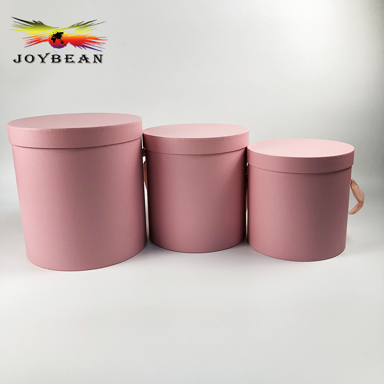 Wholesale paper round preserved flower hat box