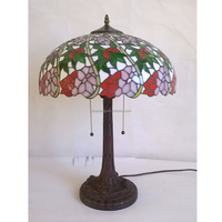 16 inch flower imitation tiffany table lamp