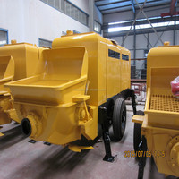 China supply portable beton pump convey concrete for building construction Chinese factory Alibaba supplier