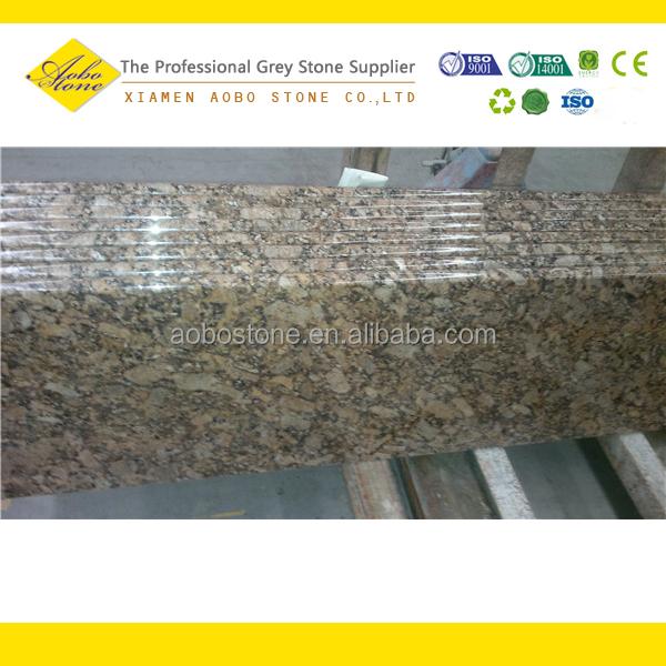 Ouro Brazil Granite Kitchen: Interior Ouro Brazil Gold Granite Stairs