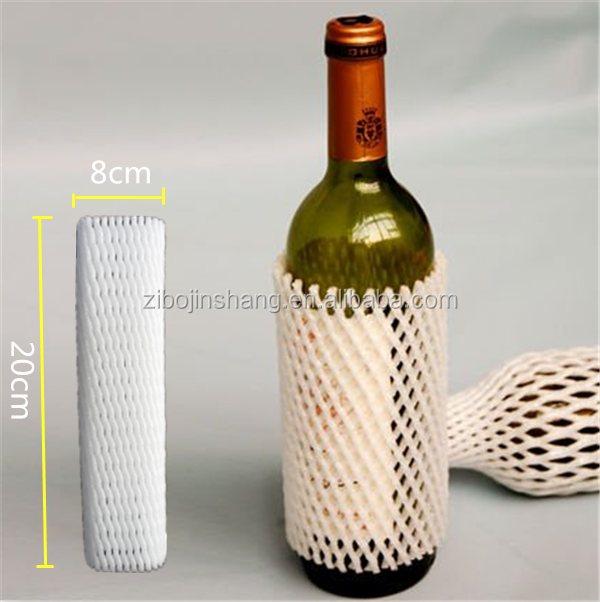 Wine bottle protection net