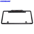 170 Degree High Night Vision Waterpro American license plate frame rear view camera