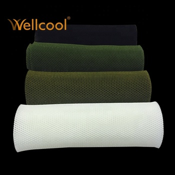 warp knit polyester sandwich 3d mesh fabric for chair