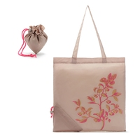 Attractive fashion hot-sale shopping foldable 230d nylon tote bag