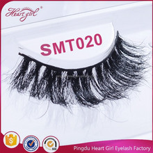 Real horse fur eyelashes with private label