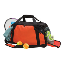 New trendy young sports travel bag with cooler compartment
