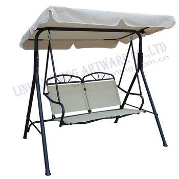 adult 2seats canopy swing chairs YN8006